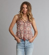 Odd Molly honey-coated tank top Light Mahogny
